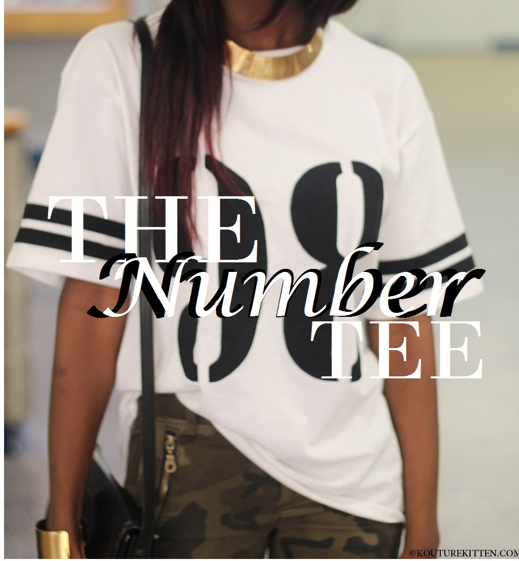 forever 21 number tee
