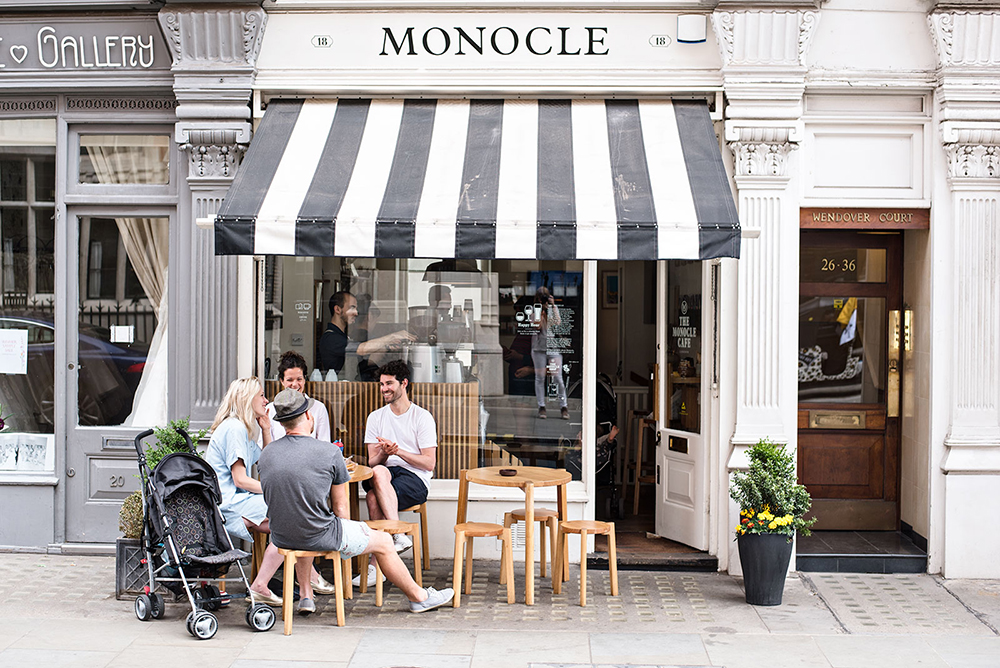 Best coffee shop design MONOCLE CAFE