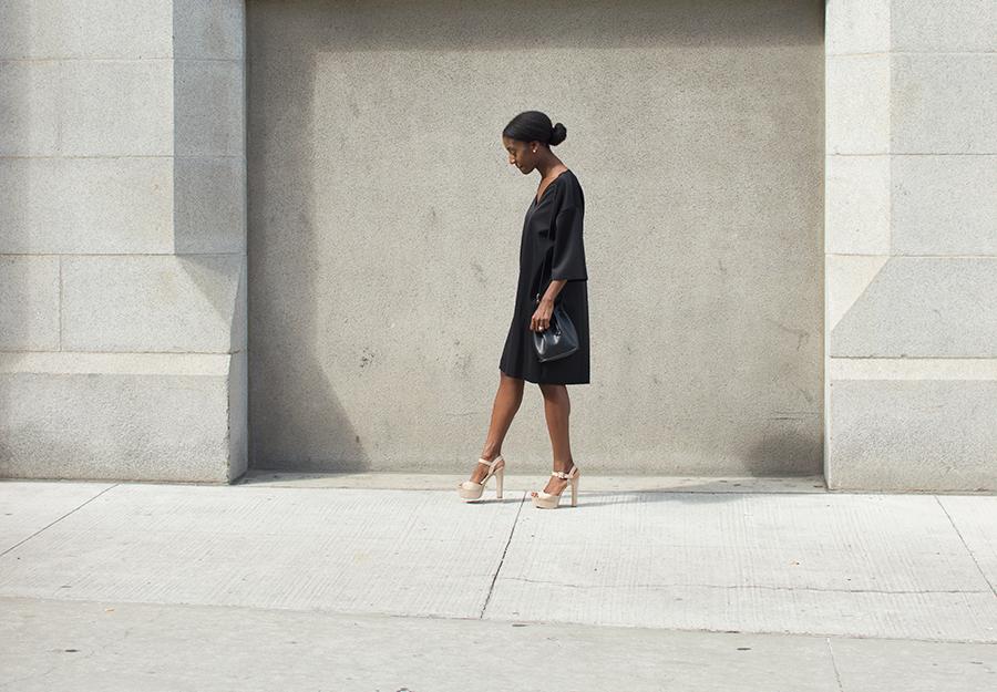 Zara t shirt dress kouturekitten fashion for Zara black t shirt dress