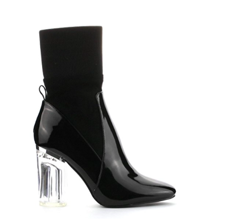 CAPE ROBBIN PATENT LEATHER BOOTS